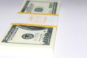 billets d'un dollar photo