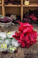 thé à l'hibiscus photo