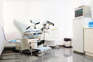 chaise gynécologique photo