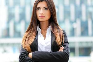 jeune femme d'affaires photo
