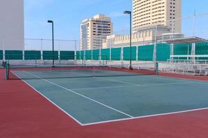 court de tennis vide photo