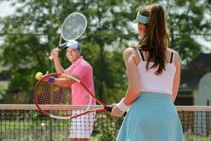 court de tennis photo