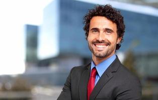 gestionnaire masculin confiant photo