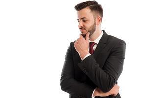 homme d'affaires déçu photo