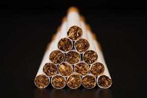 tas de cigarettes