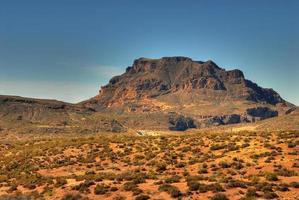 montagne du désert photo