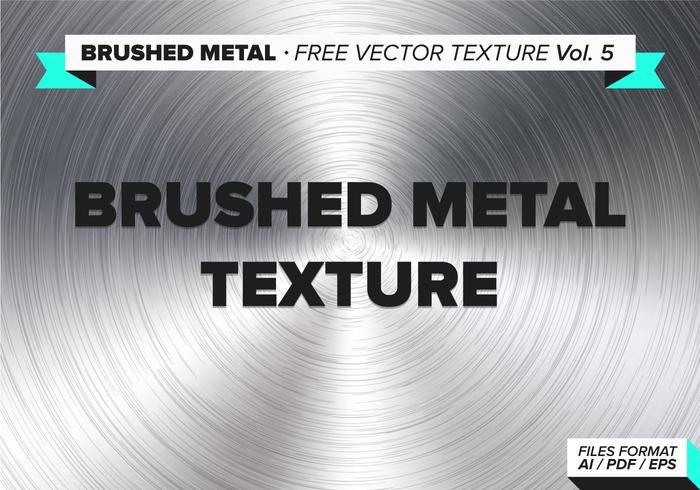 Texture de vecteur libre de métal brossé vol. 5