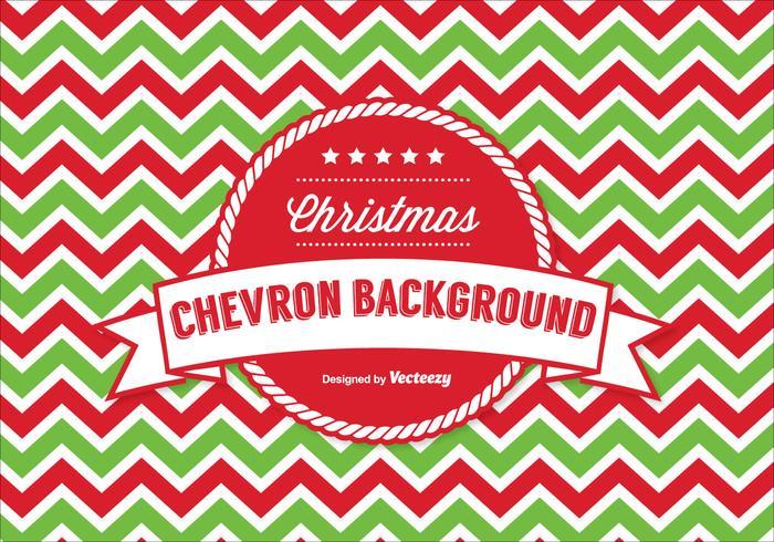 Fond d'écran de Noël Chevron vecteur