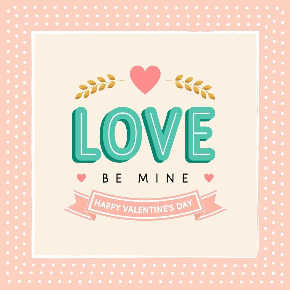 fond d'amour saint valentin vecteur