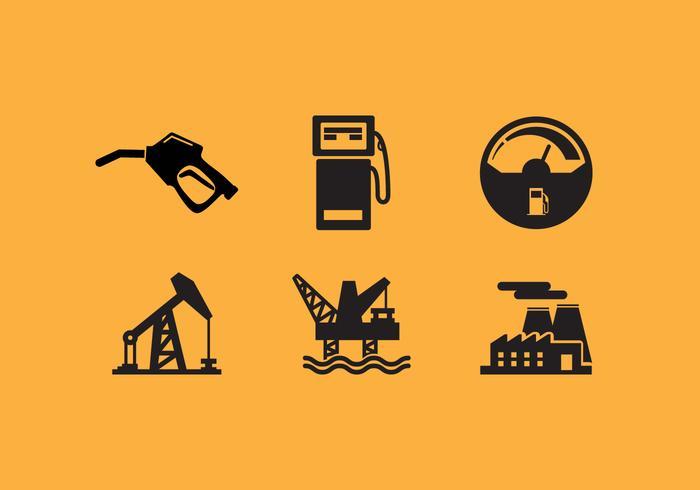 Jauge de carburant vectoriel