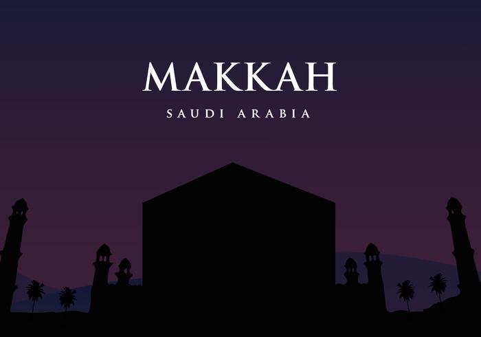 Vecteur de Makkah