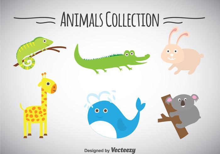 Collection d'animaux vecteur