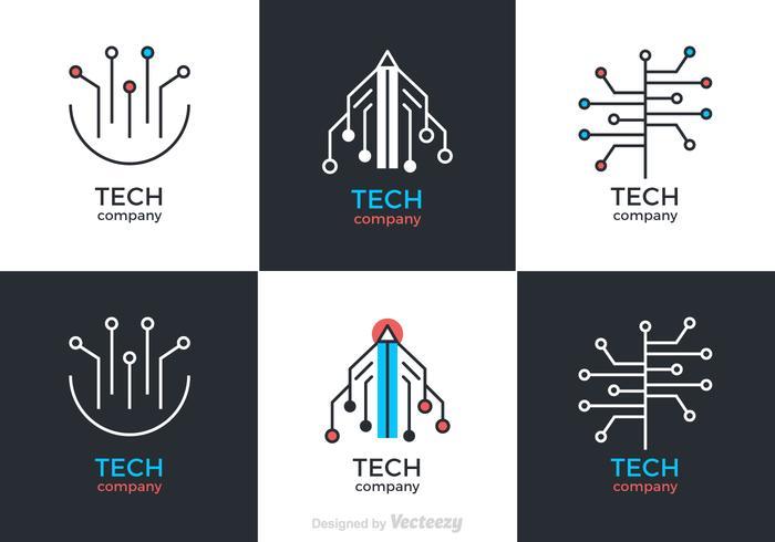 Symboles vectoriels gratuits de la technologie vecteur
