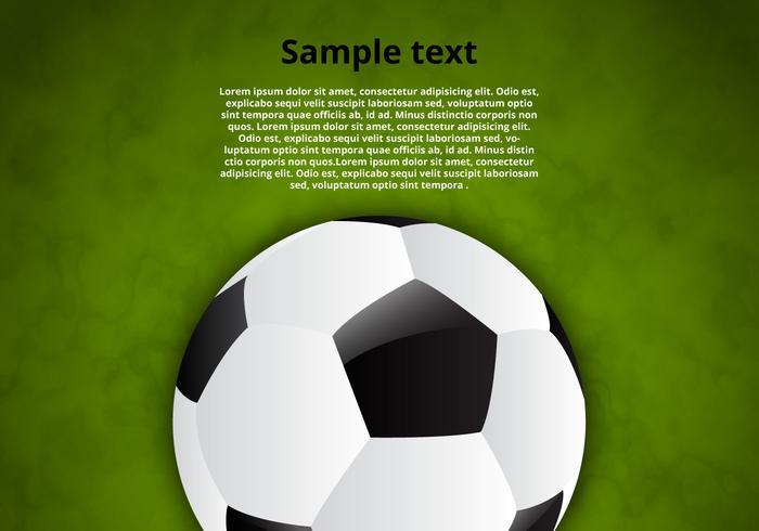 Fond de balle de balle de football gratuit vecteur