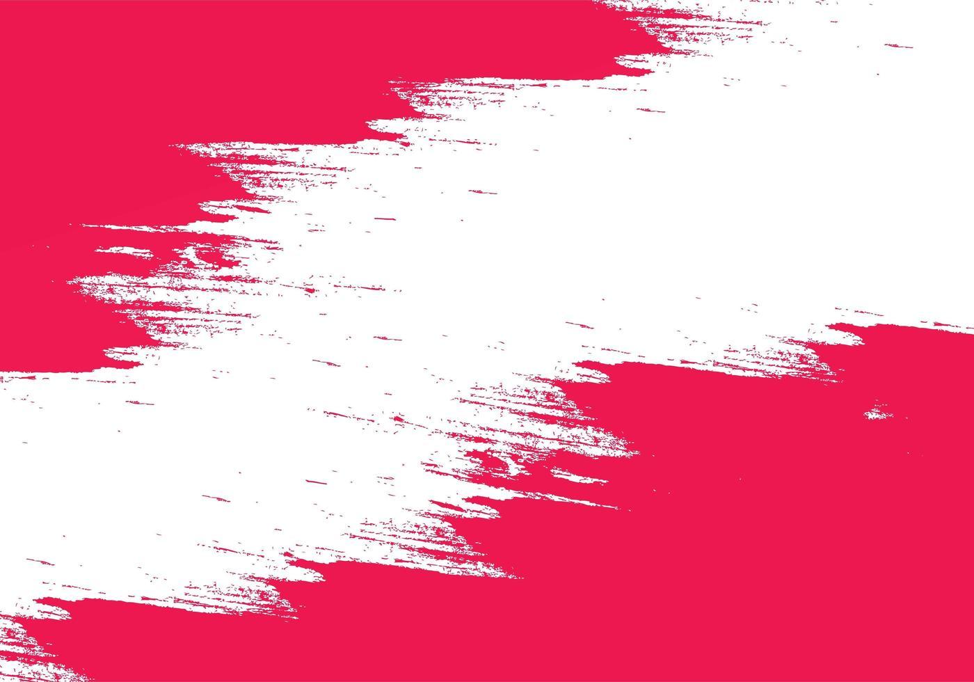 texture de coup de pinceau rose moderne vecteur