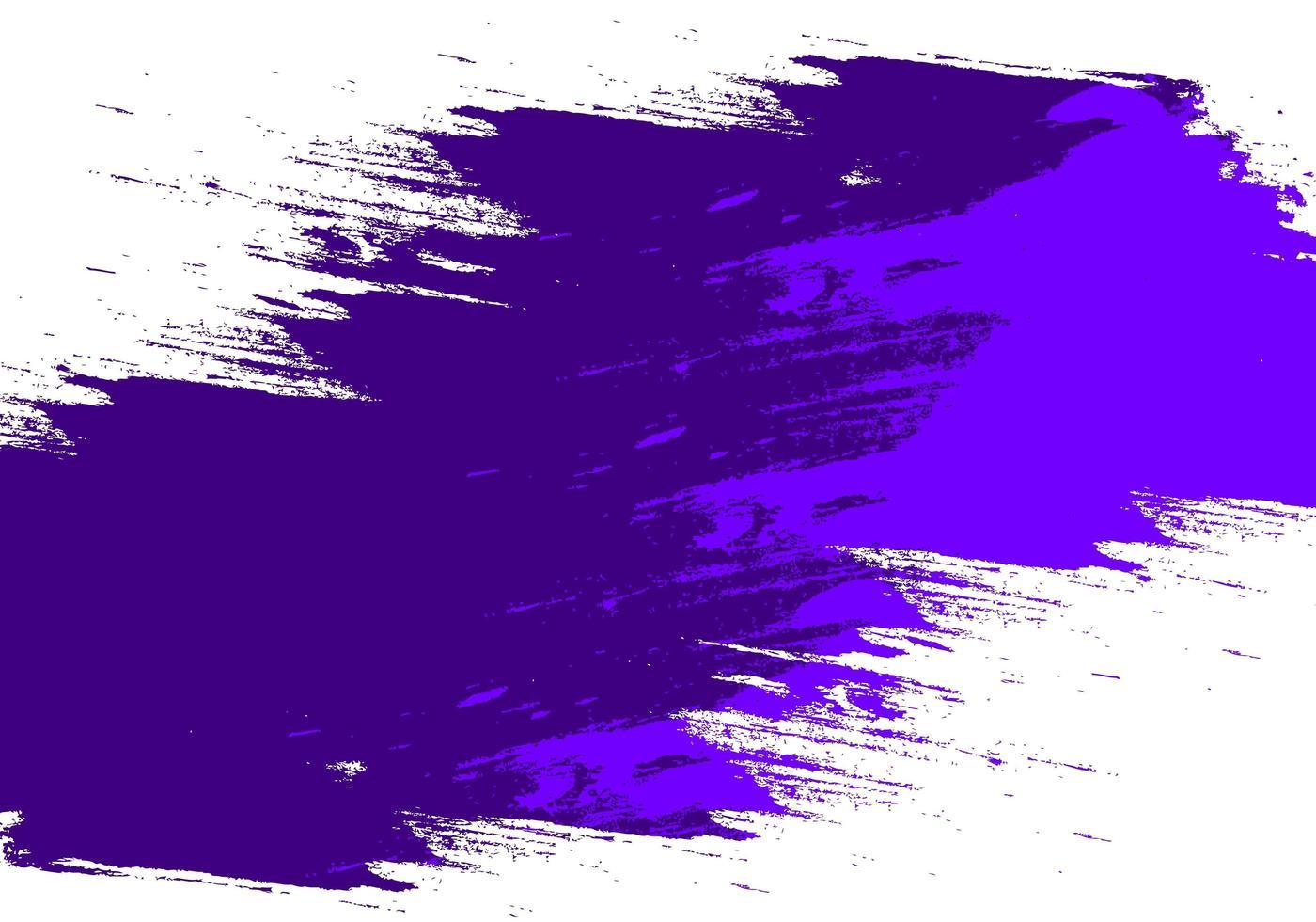 coup de grunge abstrait violet vecteur