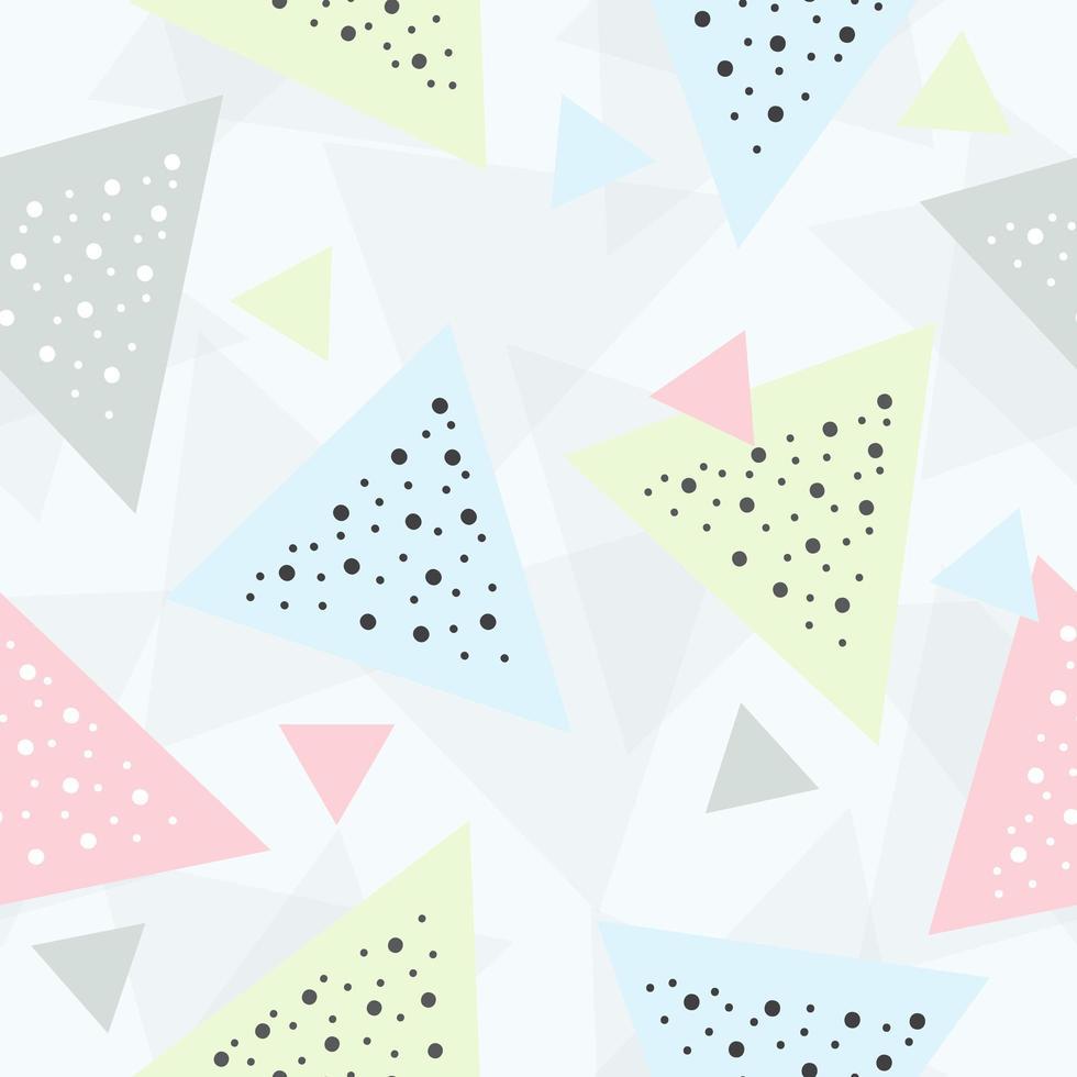 triangle pastel abstrait vecteur