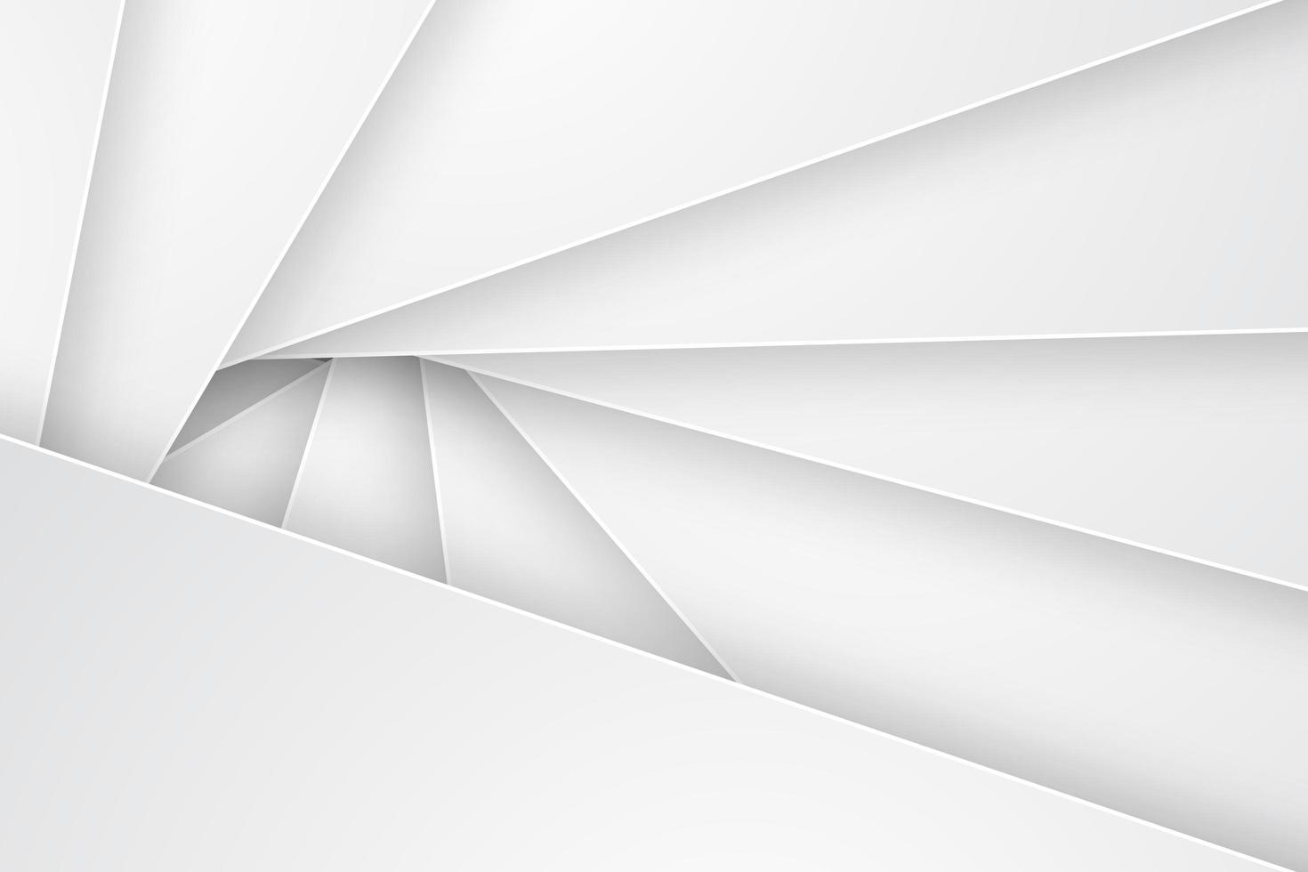 fond blanc abstrait triangulaire vecteur