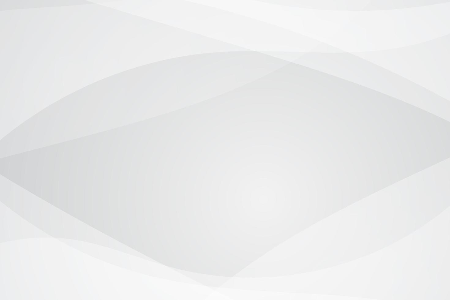 fond de forme courbe blanc gris abstrait vecteur