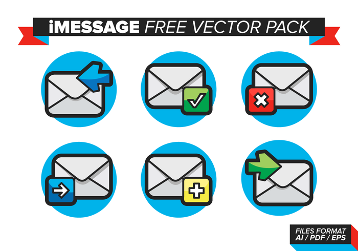 Pack vectoriel gratuit IMessage