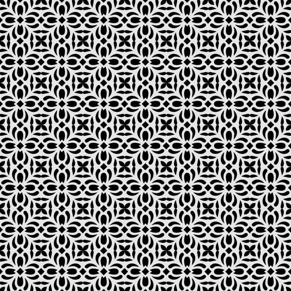 motif abstrait swatch cool fond noir et blanc sans soudure vecteur