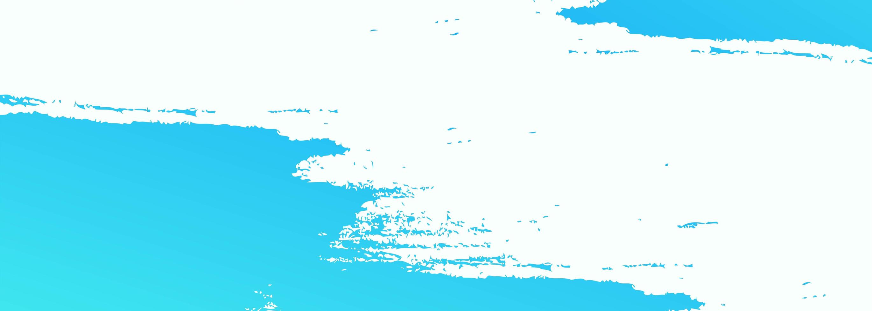 conception de bannière aquarelle abstraite brosse bleue vecteur