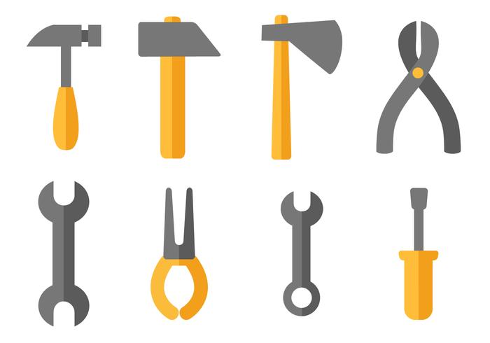 Vecteur d'outils de construction gratuit