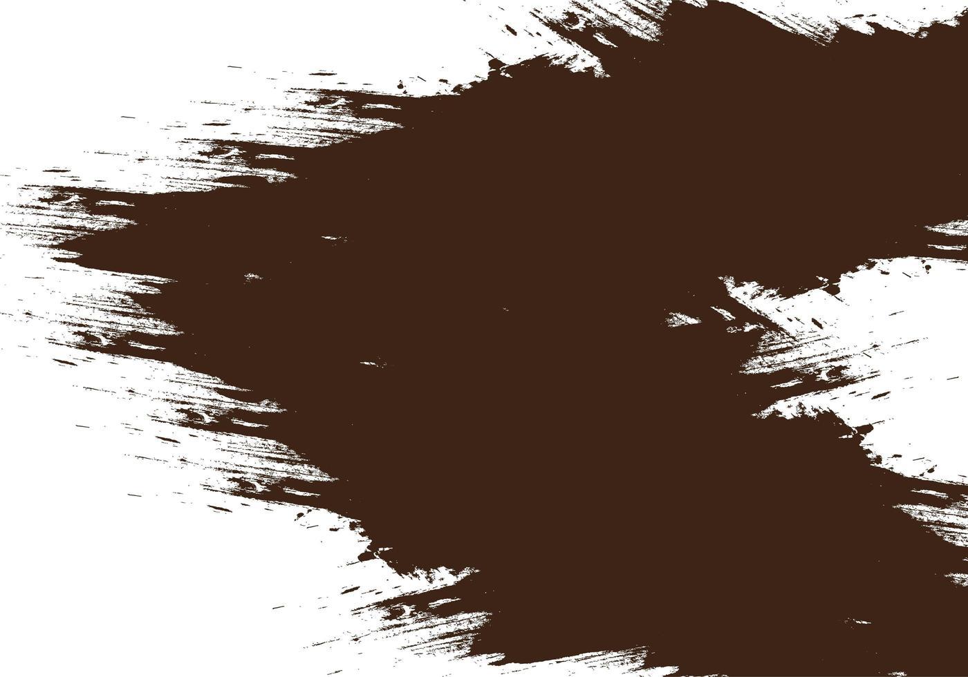 texture de trait triangle triangle encre grunge marron moderne vecteur