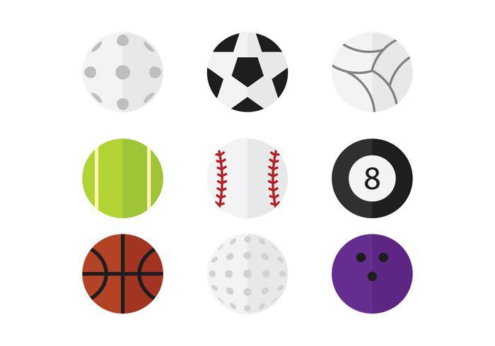 Pack Sport Ball Vector