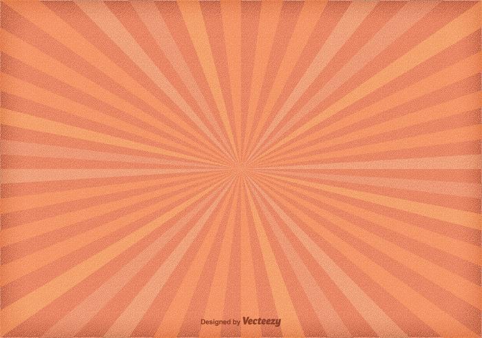 Fond de Sunburst texturé vecteur