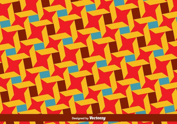 Vector Bauhaus style motif coloré