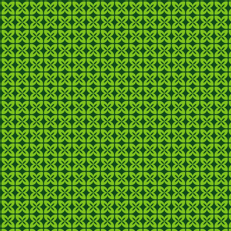 motif de feuilles vertes vecteur