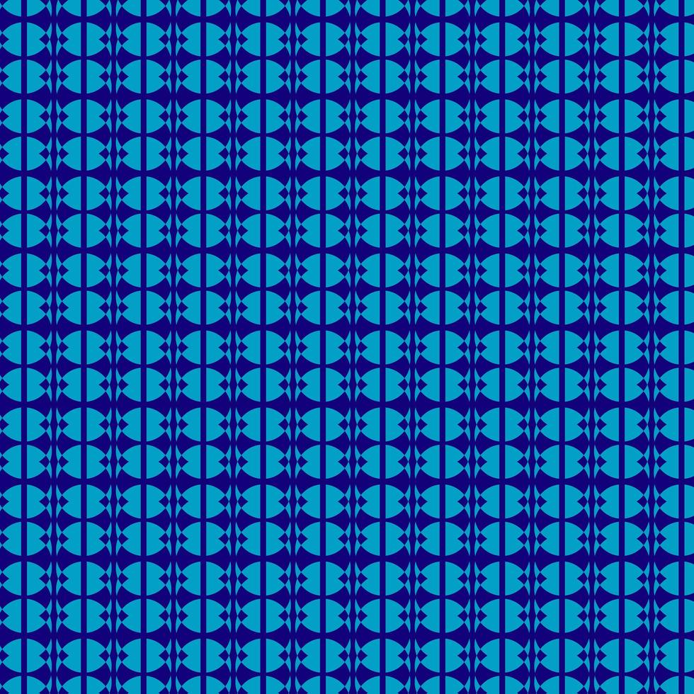 motif de cercle bleu vecteur