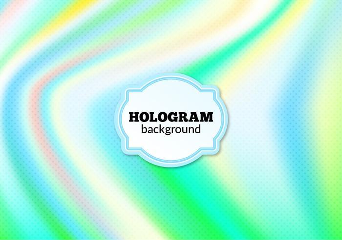 Contexte holographique en demi-teinte de vecteur gratuit