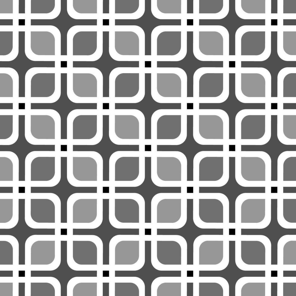 impression de fond rétro carré cubique sans soudure vecteur