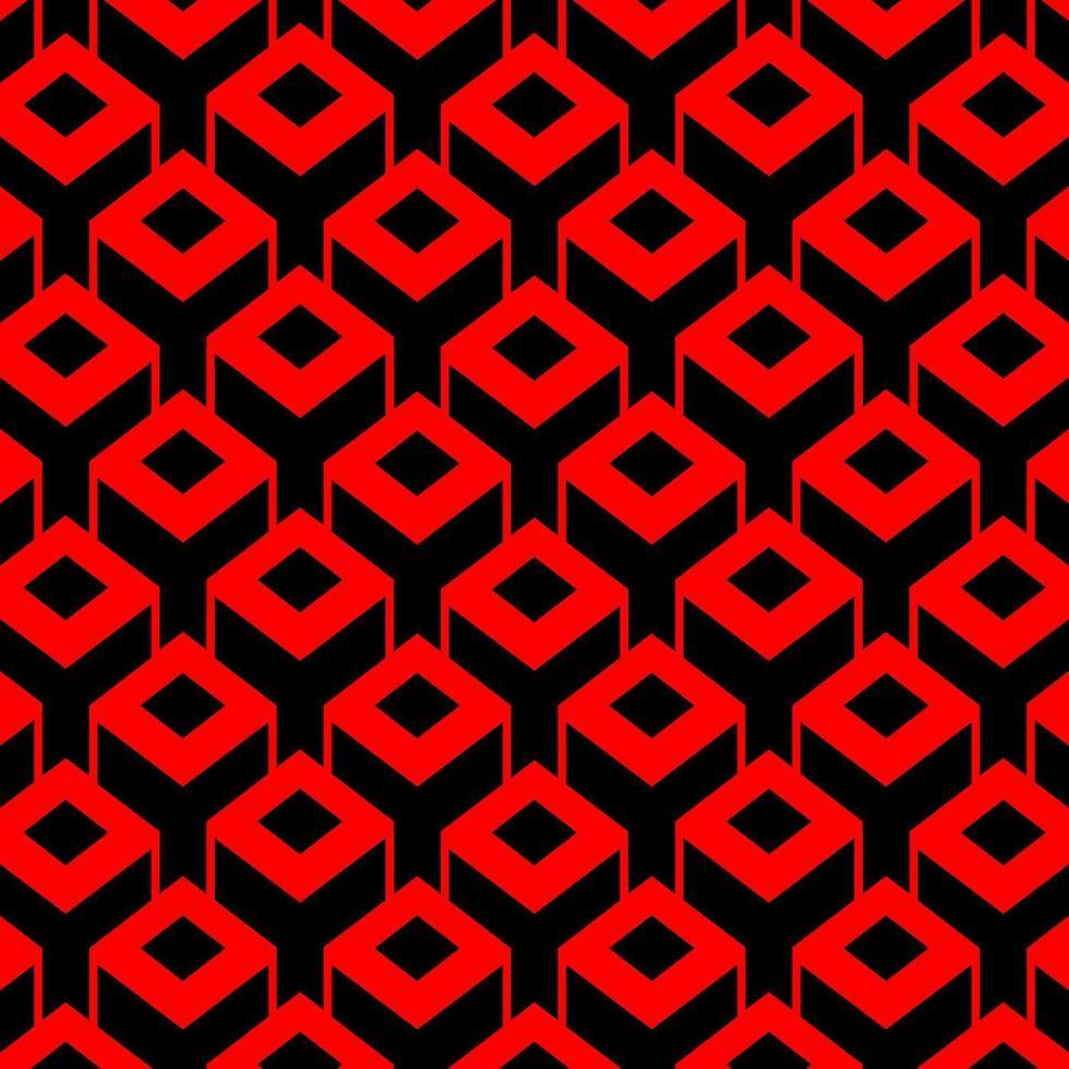 Fond de boîte cubique carré 3D vecteur