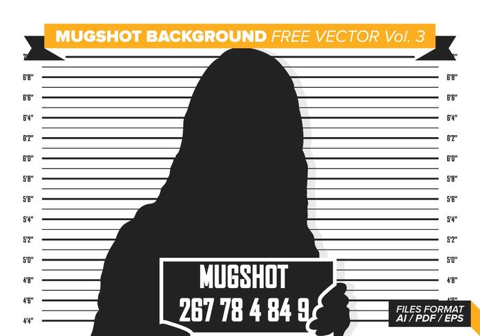 Fond d'écran de Mugshot Free Vector Vol. 3