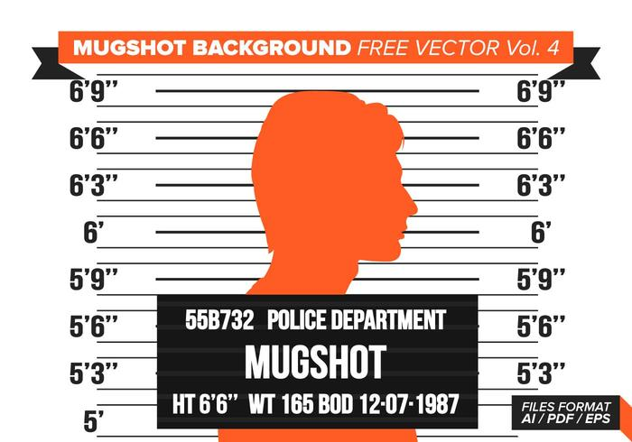 Fond d'écran de Mugshot Free Vector Vol. 4