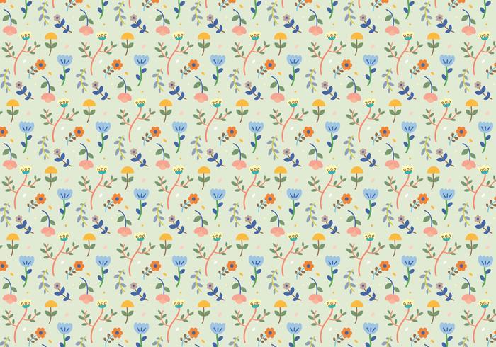 Forme de fleurs en pastel vecteur
