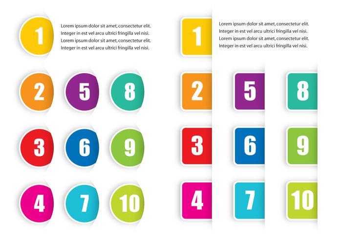 Points de balle colorés vecteur