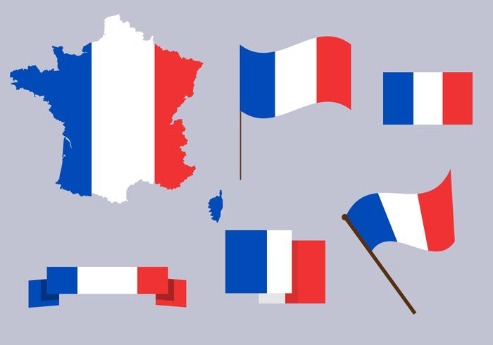 Vector de carte gratuit en France