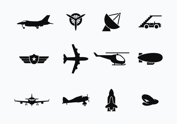 Avion gratuit et vecteurs de transport vecteur