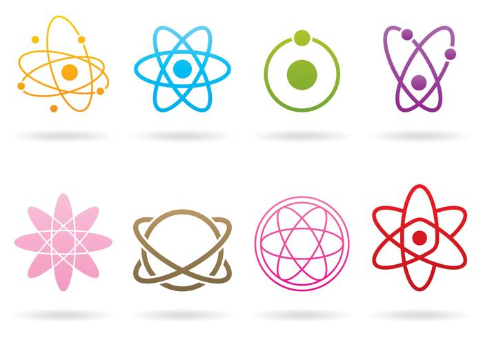 Atom Logos vecteur