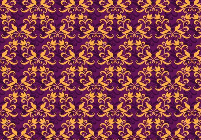 Vector Purple Purple Flourish Pattern