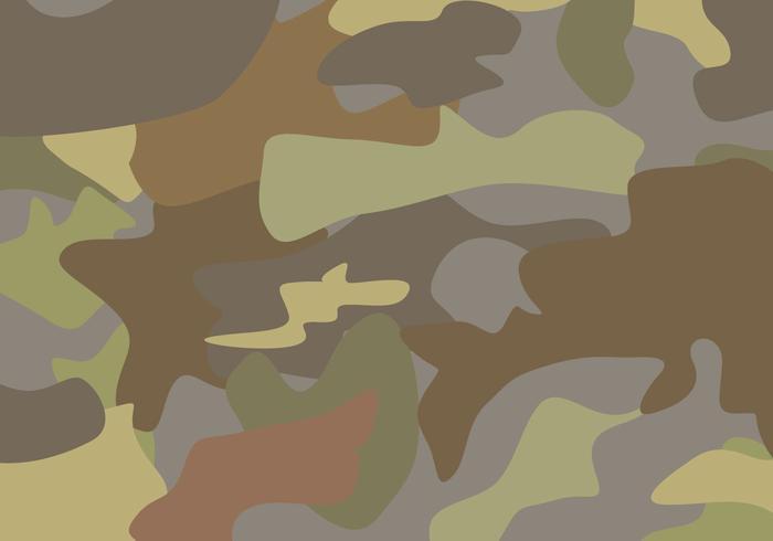Vecteur de camouflage brun gratuit