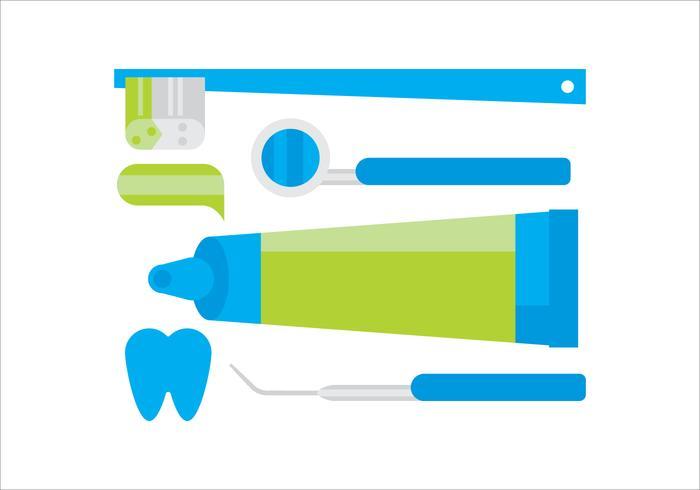 Dentiste vectorielle vecteur