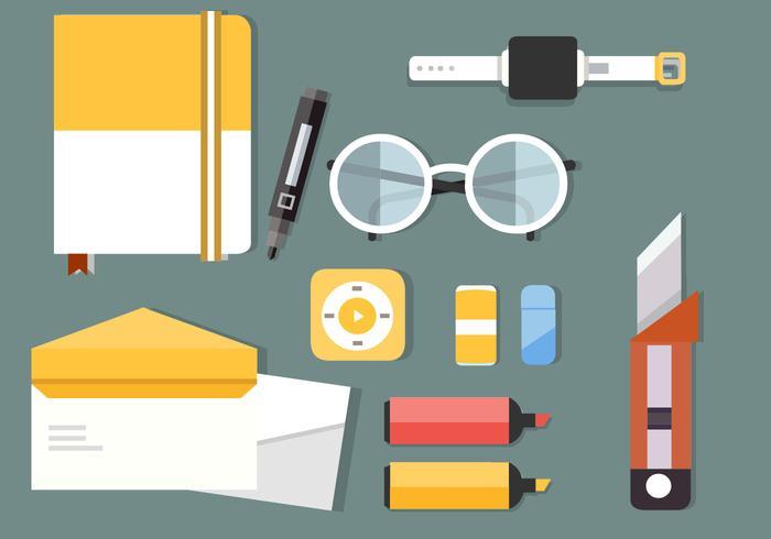Illustration Vectorielle de Business Office Gratuite vecteur
