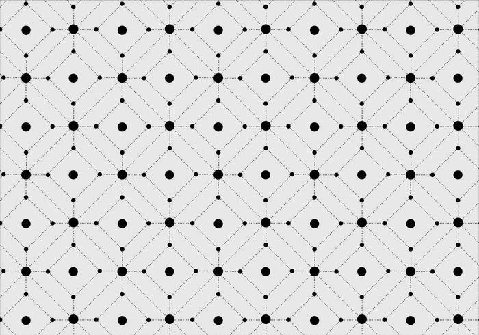 Free Seamless Pattern géométrique vecteur