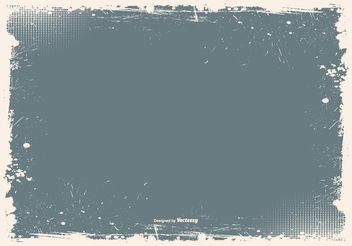 Grunge frame vector background