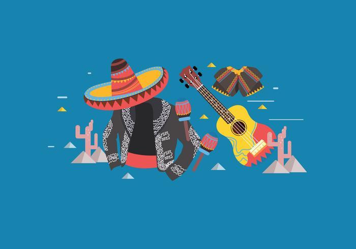 Vecteur mariachi